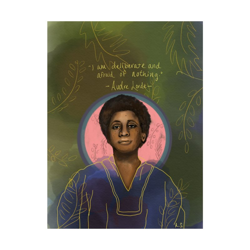 Audre Lorde Accessories Bag by Alison Sommer's Artist Shop