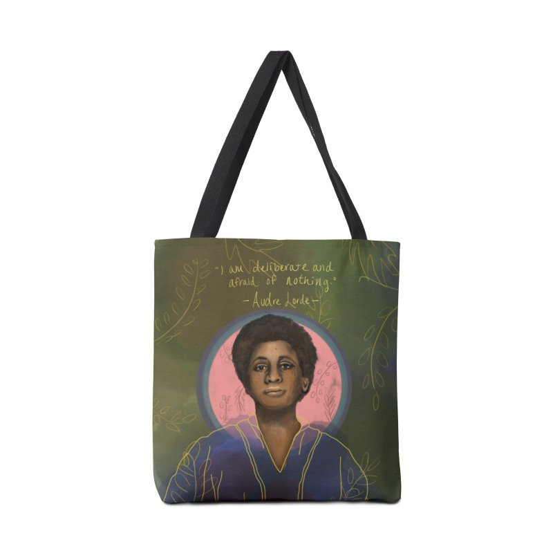 Audre Lorde Accessories Tote Bag Bag by Alison Sommer's Artist Shop