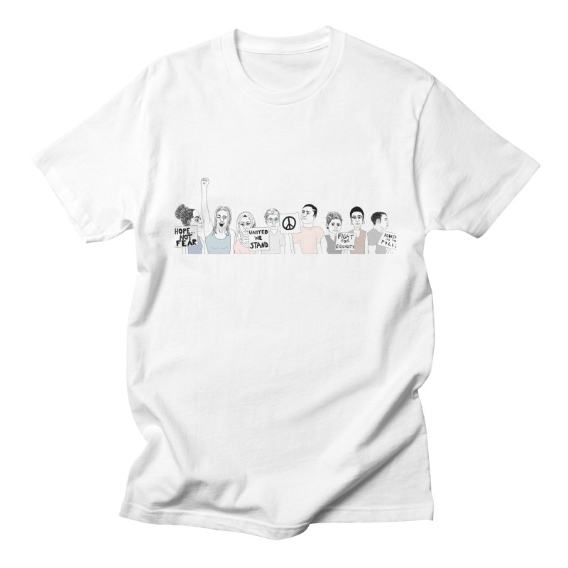 Together Men's T-Shirt by Alison Sommer's Artist Shop