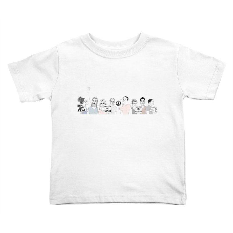 Together Kids Toddler T-Shirt by Alison Sommer's Artist Shop