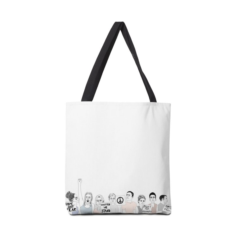 Together Accessories Tote Bag Bag by Alison Sommer's Artist Shop