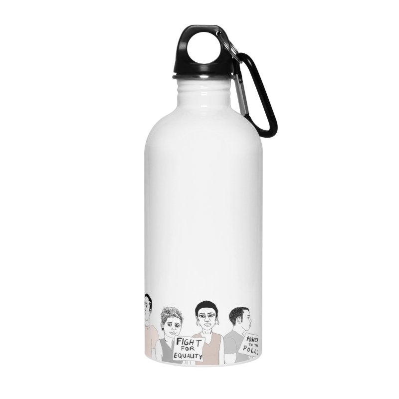 Together Accessories Water Bottle by Alison Sommer's Artist Shop
