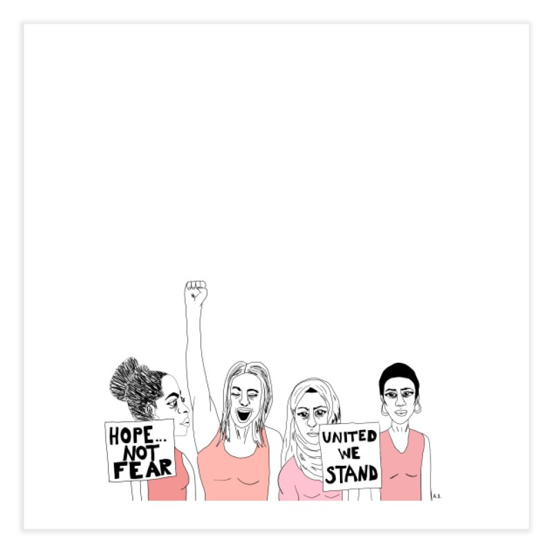 Unity (Pink) Home Fine Art Print by Alison Sommer's Artist Shop