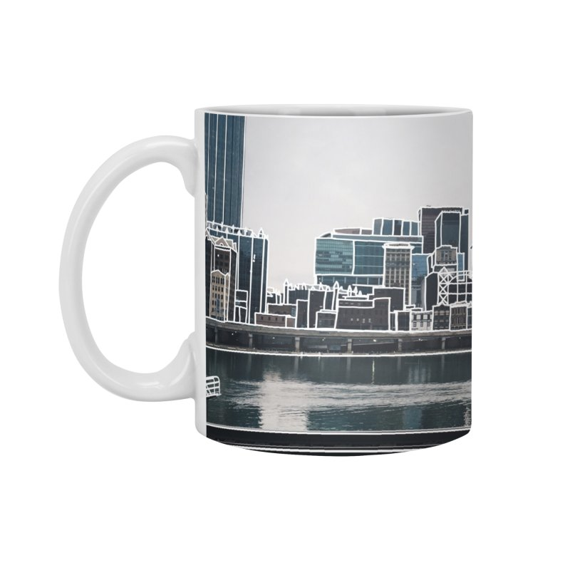 Pittsburgh Accessories Mug by Alison Sommer's Artist Shop