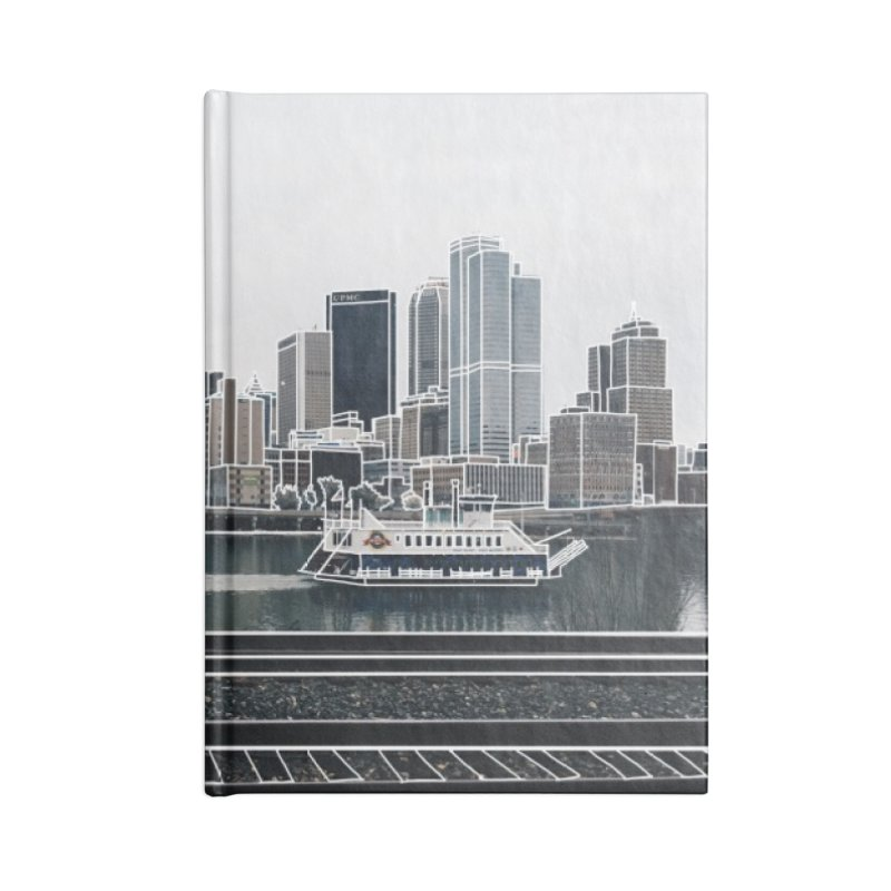 Pittsburgh Accessories Notebook by Alison Sommer's Artist Shop