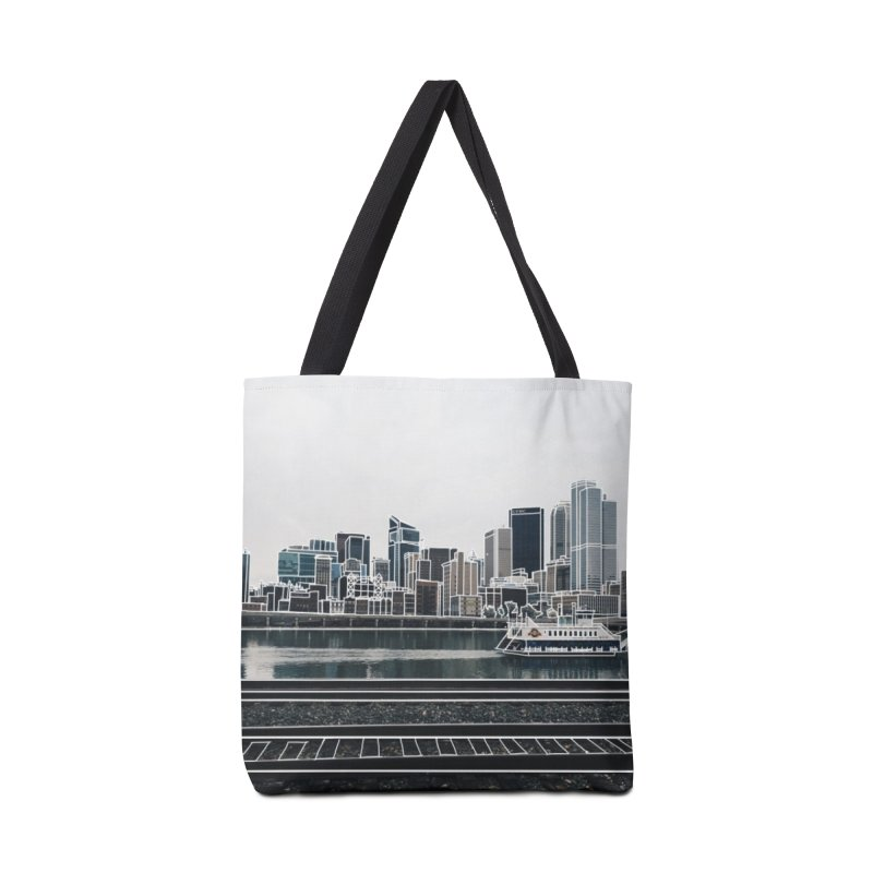 Pittsburgh Accessories Bag by Alison Sommer's Artist Shop