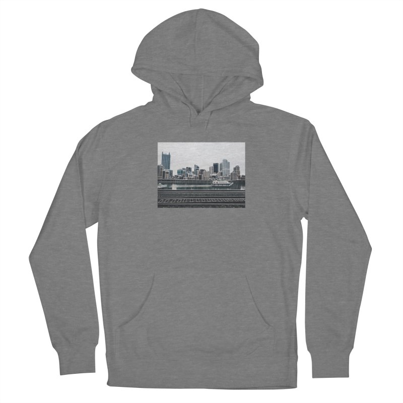 Pittsburgh Women's Pullover Hoody by Alison Sommer's Artist Shop
