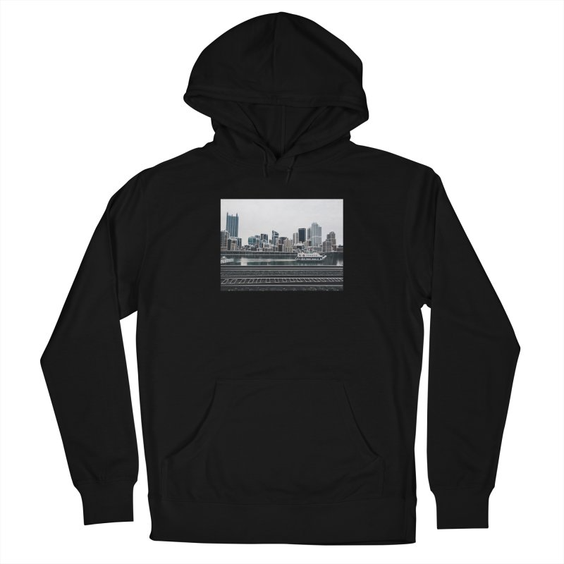 Pittsburgh Men's Pullover Hoody by Alison Sommer's Artist Shop