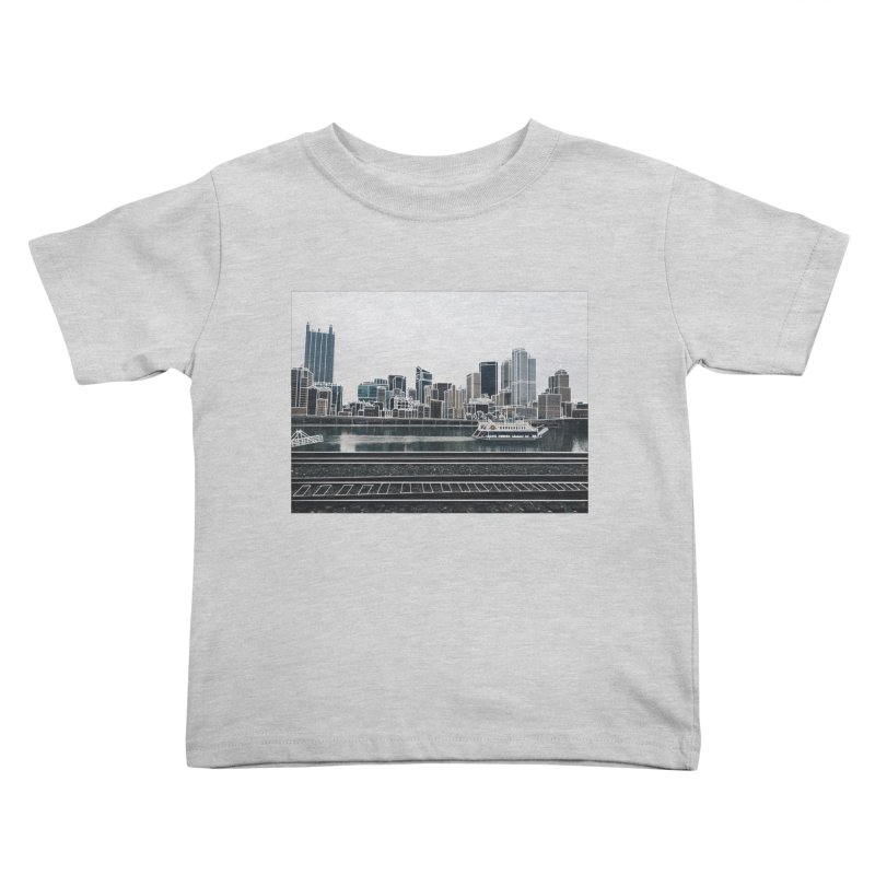 Pittsburgh Kids Toddler T-Shirt by Alison Sommer's Artist Shop