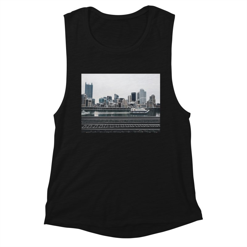 Pittsburgh Women's Tank by Alison Sommer's Artist Shop
