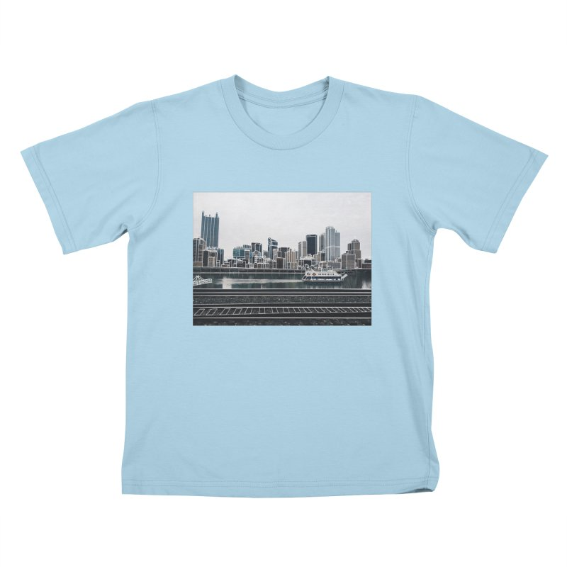 Pittsburgh Kids T-Shirt by Alison Sommer's Artist Shop