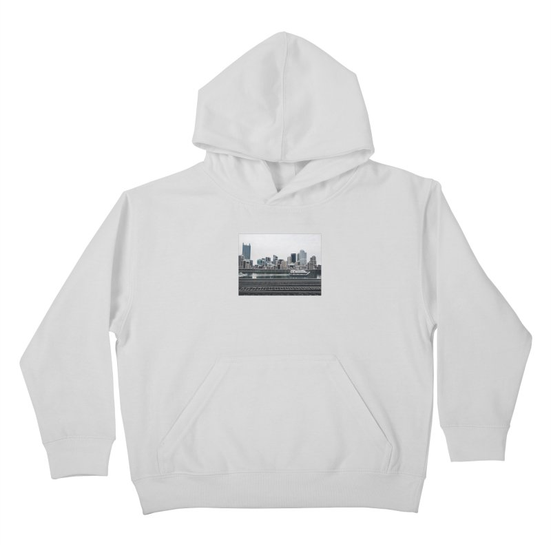 Pittsburgh Kids Pullover Hoody by Alison Sommer's Artist Shop