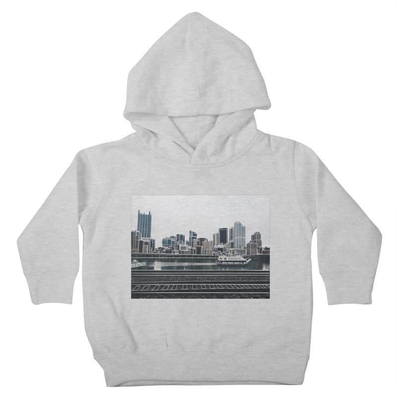 Pittsburgh Kids Toddler Pullover Hoody by Alison Sommer's Artist Shop