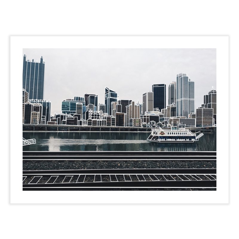 Pittsburgh Home Fine Art Print by Alison Sommer's Artist Shop