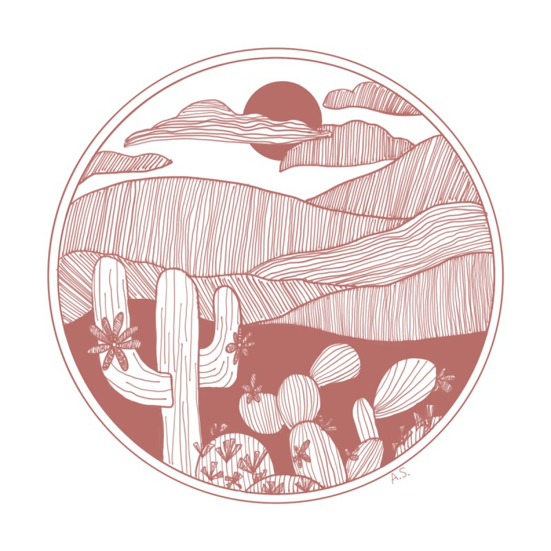Desert Accessories Sticker by Alison Sommer's Artist Shop