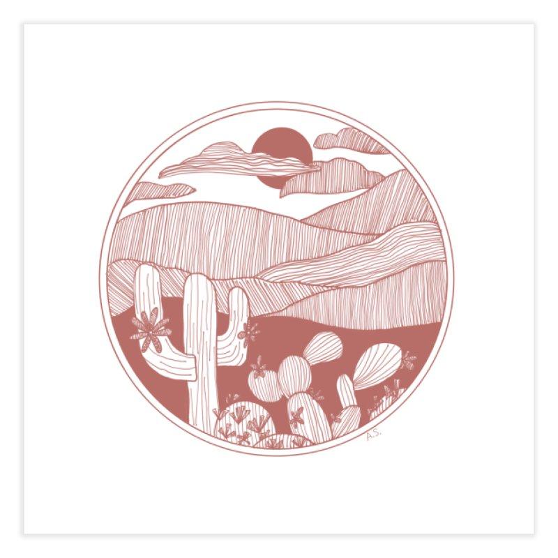 Desert Home Fine Art Print by Alison Sommer's Artist Shop