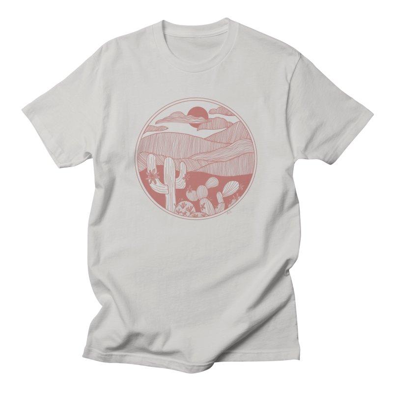 Desert Men's T-Shirt by Alison Sommer's Artist Shop