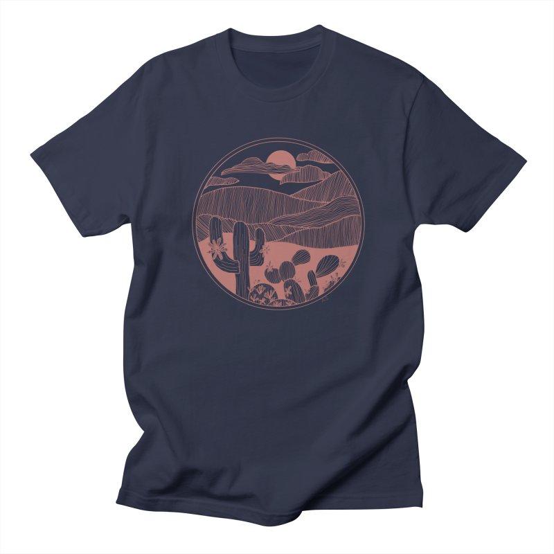 Desert Men's Regular T-Shirt by Alison Sommer's Artist Shop