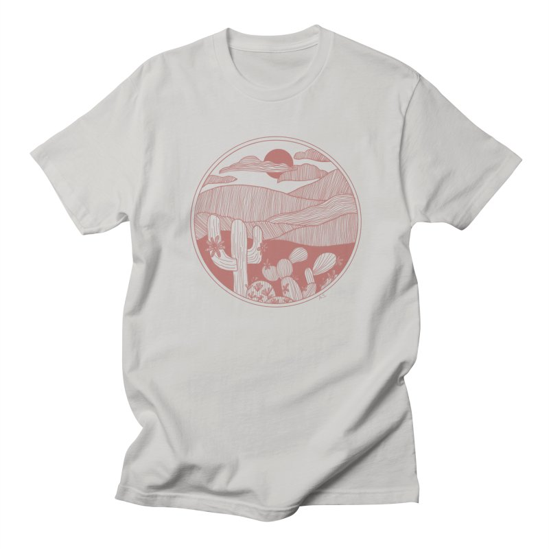 Desert Men's Regular T-Shirt by Alison Sommer's Artist Shop