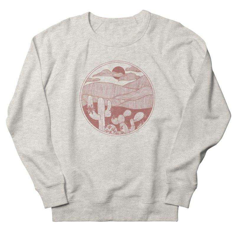 Desert Women's French Terry Sweatshirt by Alison Sommer's Artist Shop