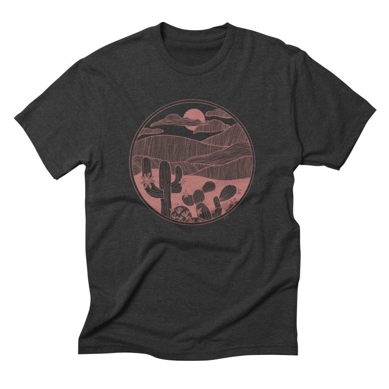 Desert Men's Triblend T-Shirt by Alison Sommer's Artist Shop