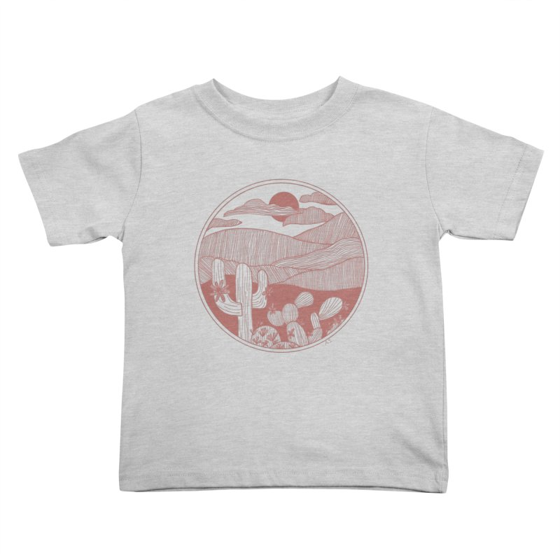 Desert Kids Toddler T-Shirt by Alison Sommer's Artist Shop
