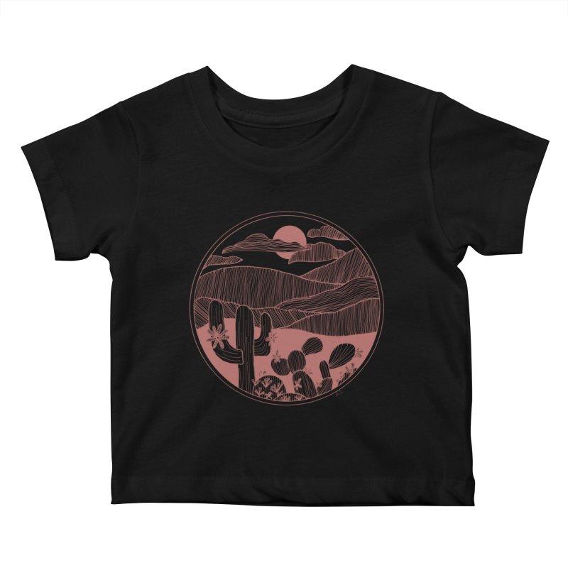 Desert Kids Baby T-Shirt by Alison Sommer's Artist Shop