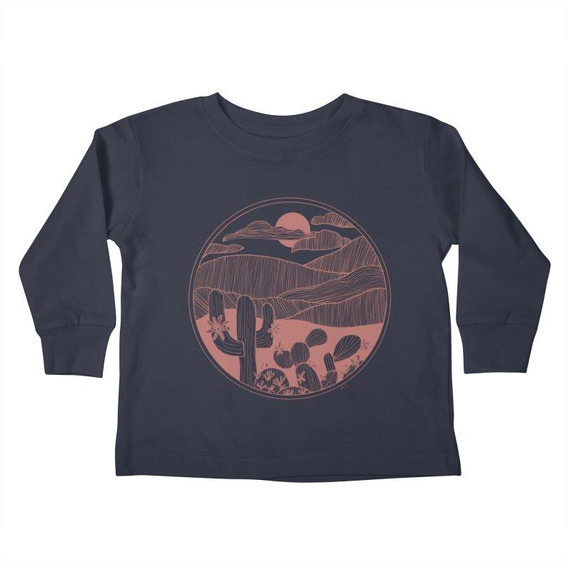 Desert Kids Toddler Longsleeve T-Shirt by Alison Sommer's Artist Shop
