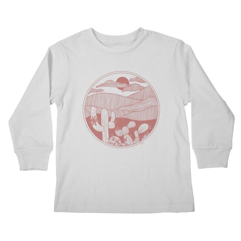Desert Kids Longsleeve T-Shirt by Alison Sommer's Artist Shop