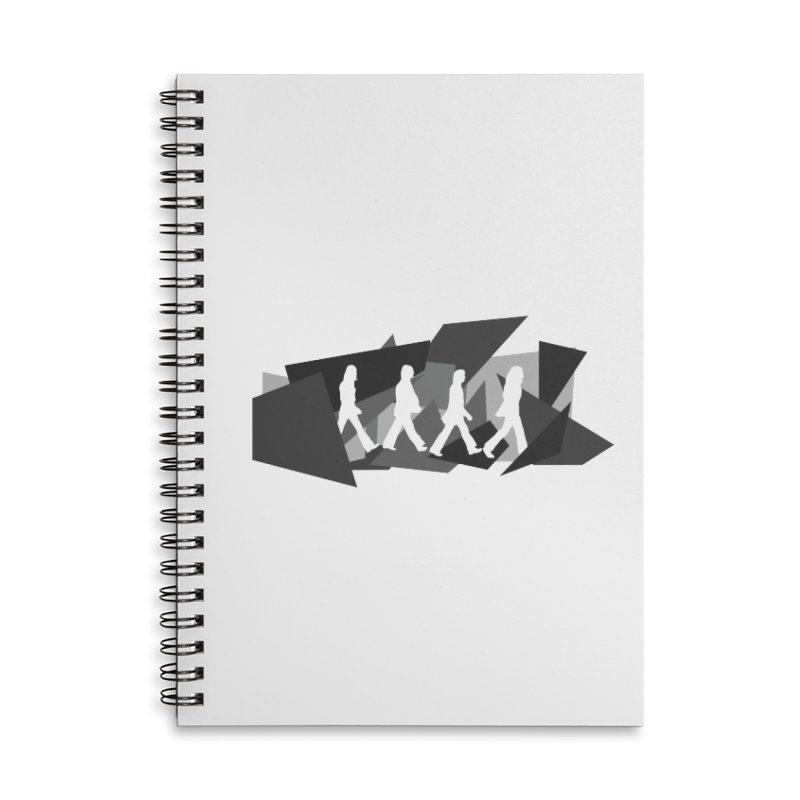 Abbey Road Accessories Notebook by Alison Sommer's Artist Shop