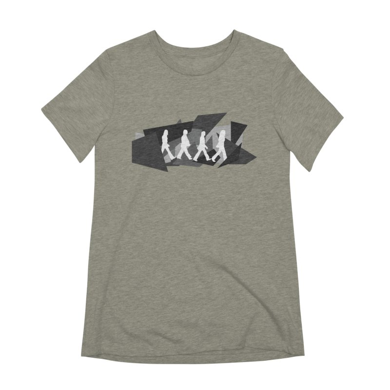 Abbey Road Women's Extra Soft T-Shirt by Alison Sommer's Artist Shop