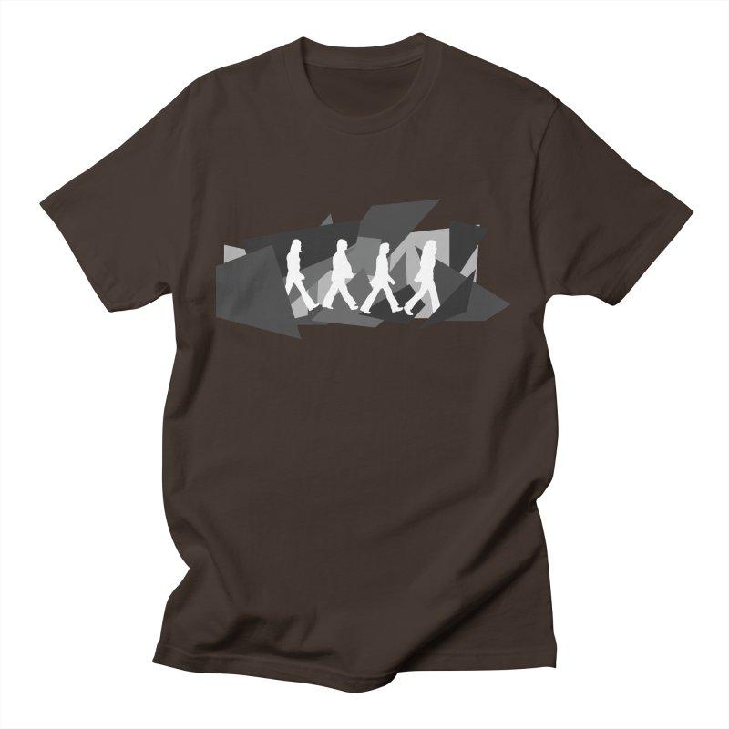 Abbey Road Men's T-Shirt by Alison Sommer's Artist Shop