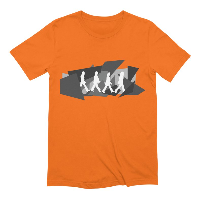 Abbey Road Men's Extra Soft T-Shirt by Alison Sommer's Artist Shop