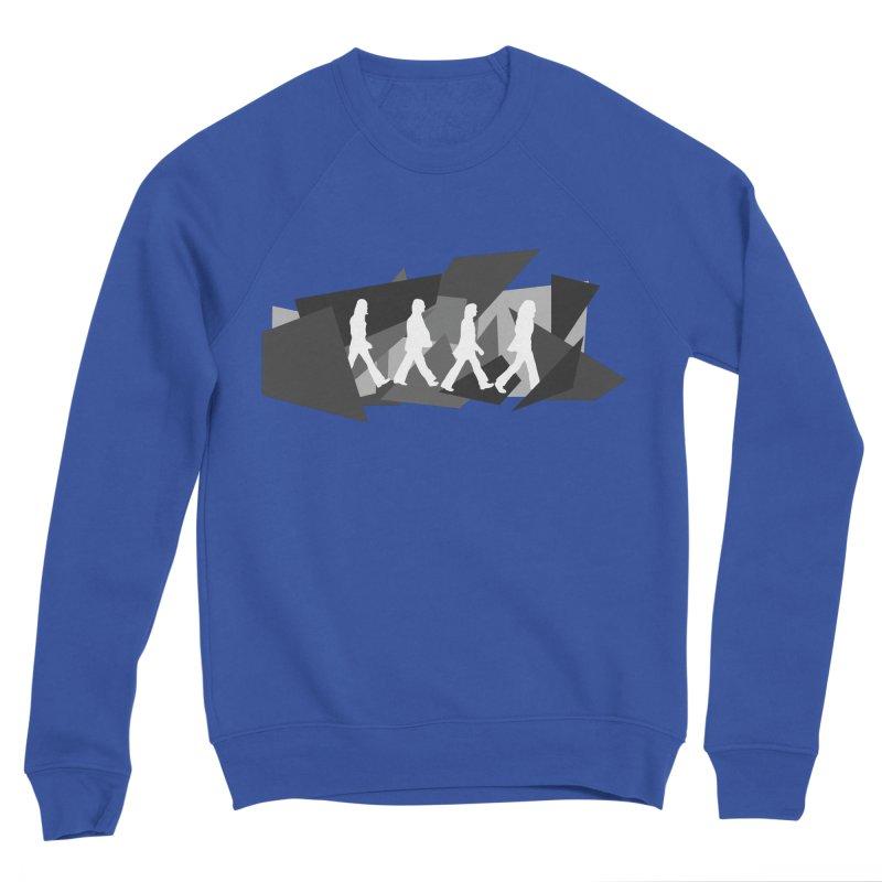 Abbey Road Men's Sponge Fleece Sweatshirt by Alison Sommer's Artist Shop