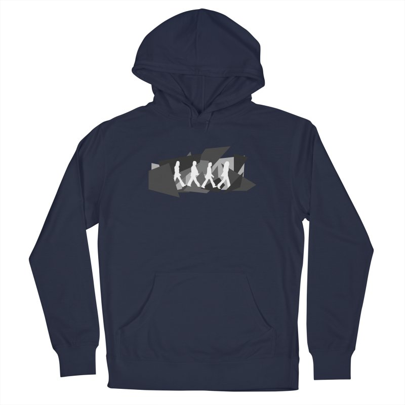 Abbey Road Men's Pullover Hoody by Alison Sommer's Artist Shop