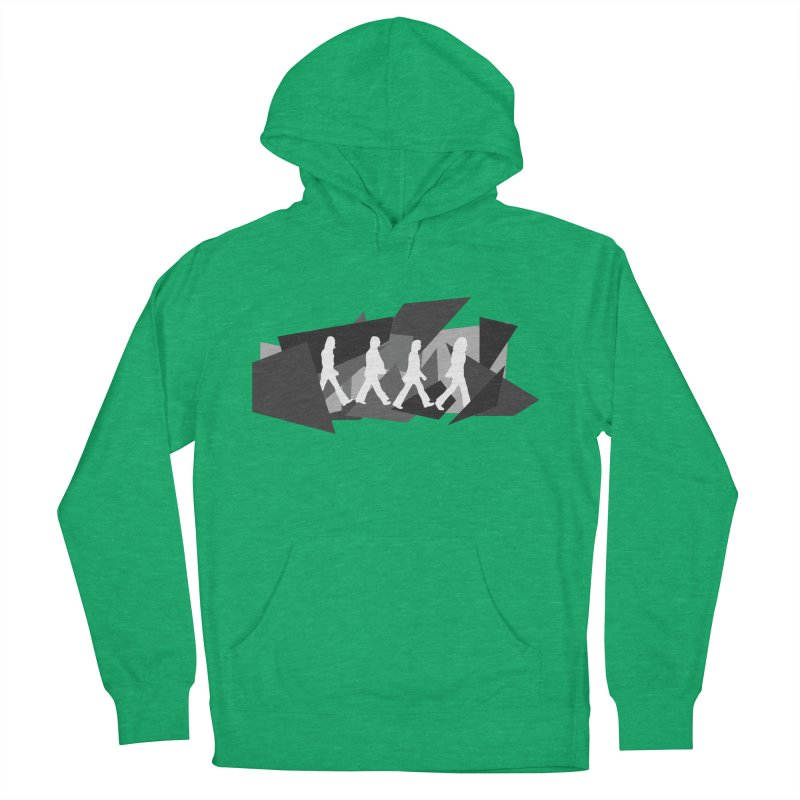 Abbey Road Women's French Terry Pullover Hoody by Alison Sommer's Artist Shop