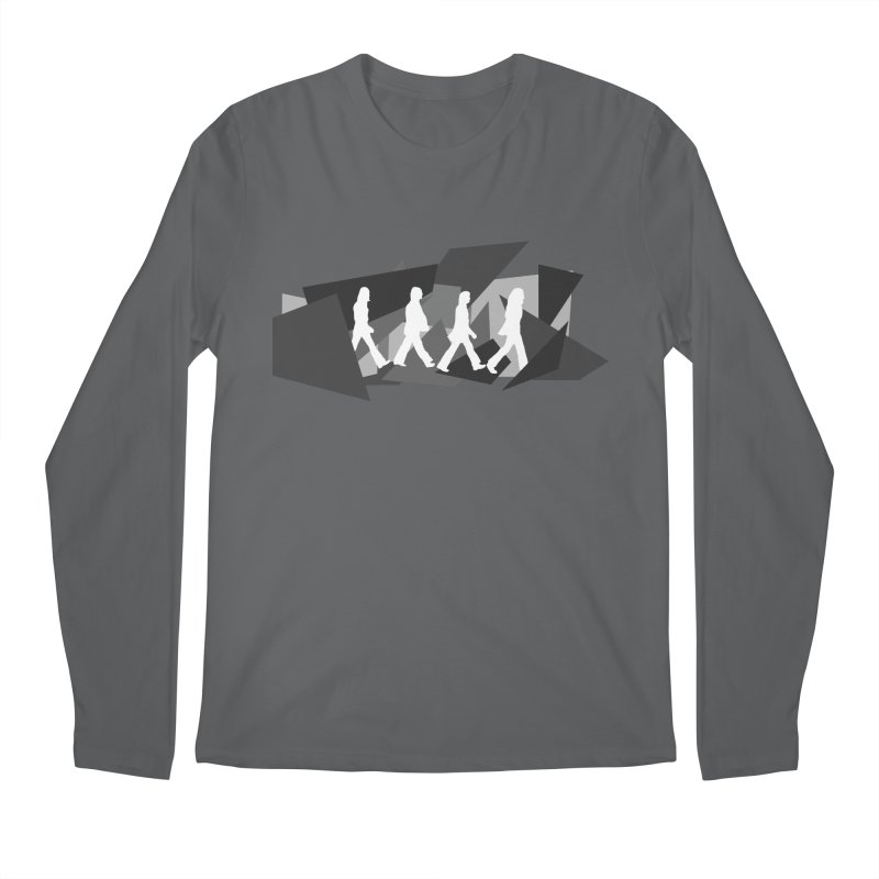 Abbey Road Men's Regular Longsleeve T-Shirt by Alison Sommer's Artist Shop
