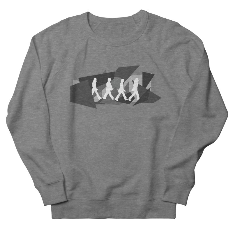 Abbey Road Women's French Terry Sweatshirt by Alison Sommer's Artist Shop