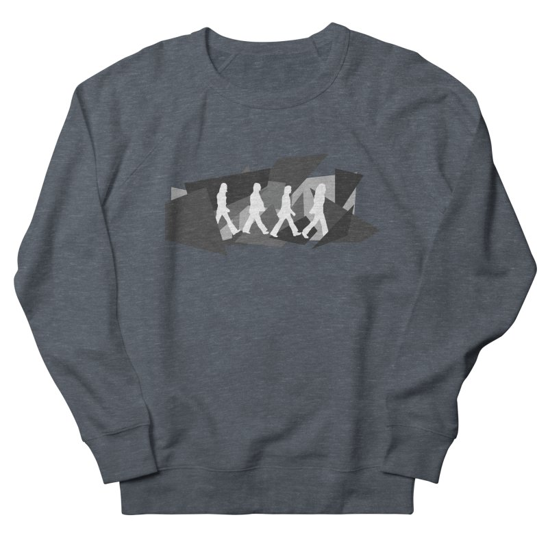Abbey Road Men's French Terry Sweatshirt by Alison Sommer's Artist Shop