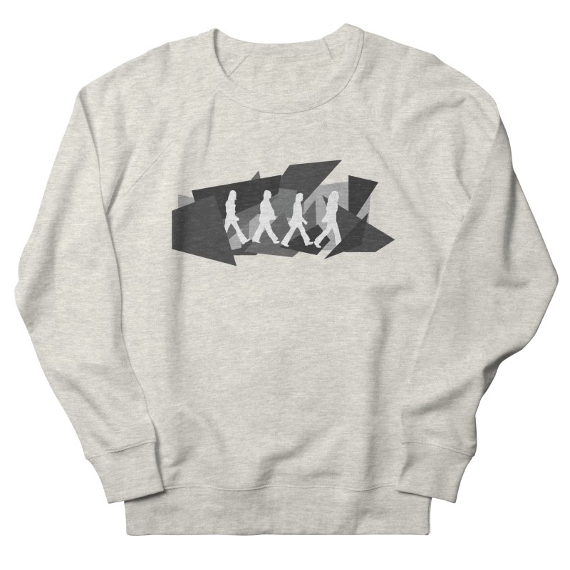 Abbey Road Men's Sweatshirt by Alison Sommer's Artist Shop