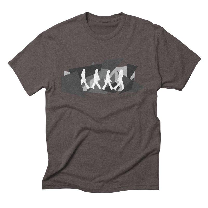 Abbey Road Men's Triblend T-Shirt by Alison Sommer's Artist Shop
