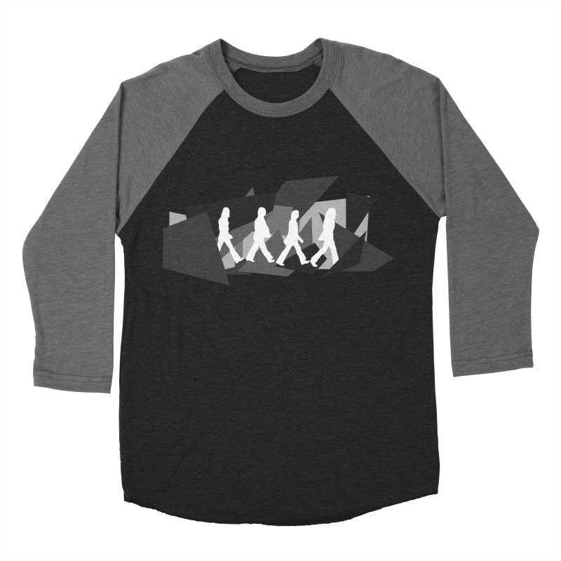 Abbey Road Women's Baseball Triblend Longsleeve T-Shirt by Alison Sommer's Artist Shop
