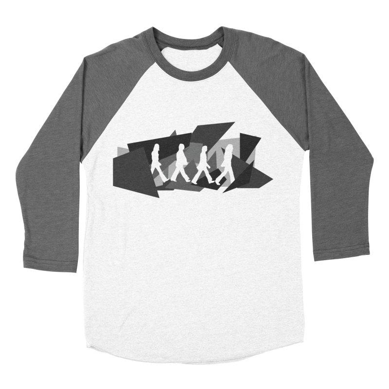 Abbey Road Men's Baseball Triblend Longsleeve T-Shirt by Alison Sommer's Artist Shop
