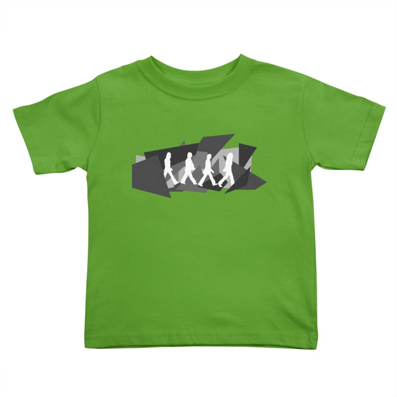 Abbey Road Kids Toddler T-Shirt by Alison Sommer's Artist Shop