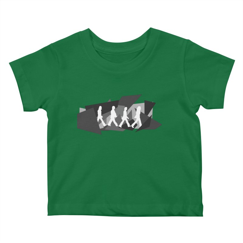 Abbey Road Kids Baby T-Shirt by Alison Sommer's Artist Shop