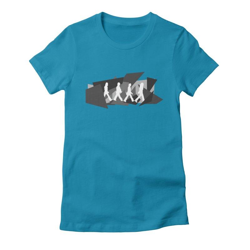 Abbey Road Women's T-Shirt by Alison Sommer's Artist Shop