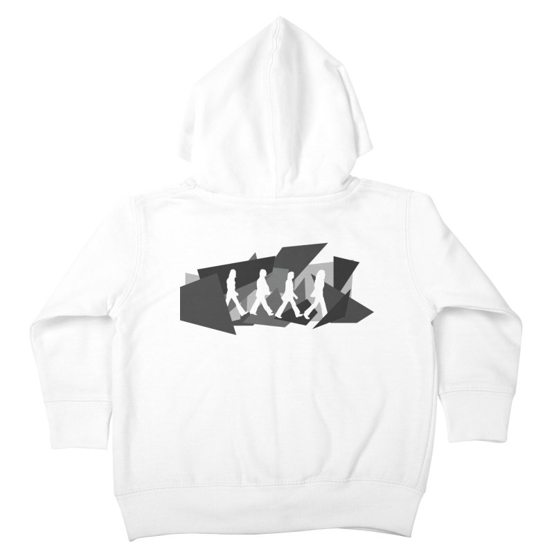 Abbey Road Kids Toddler Zip-Up Hoody by Alison Sommer's Artist Shop