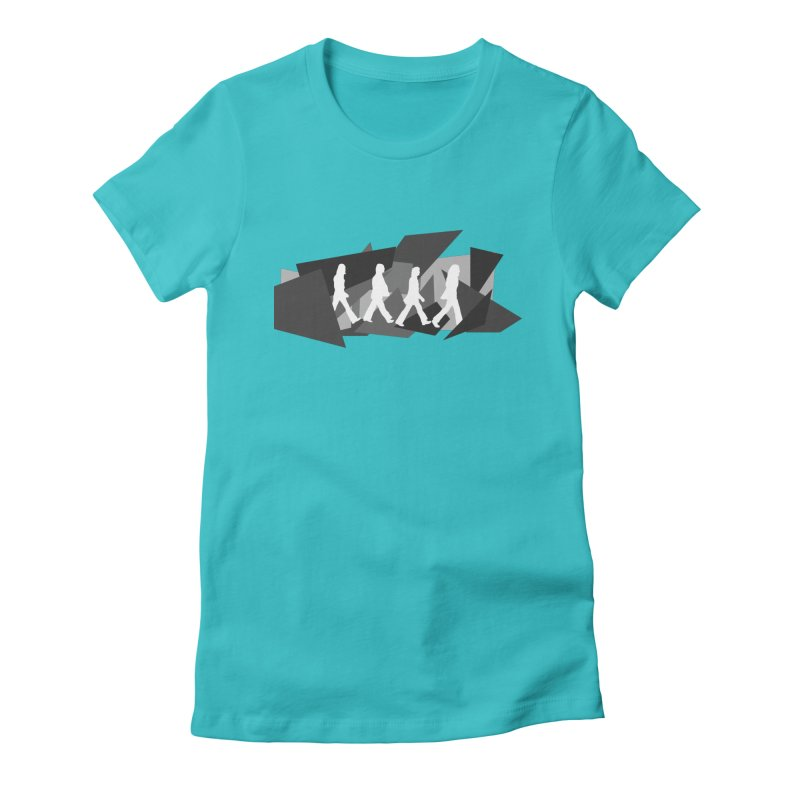 Abbey Road Women's T-Shirt by Alison Sommer's Artist Shop