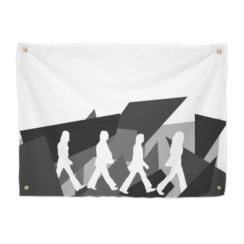 Abbey Road Home Tapestry by Alison Sommer's Artist Shop