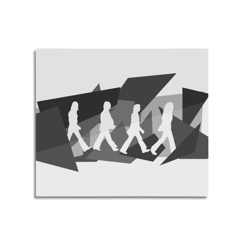 Abbey Road Home Mounted Aluminum Print by Alison Sommer's Artist Shop